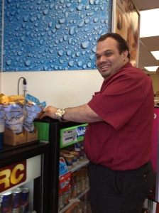 Tommy has been working at VERC for many years.  His favorite part of the job is stocking shelves and meeting the customers.